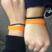 LoveIsRespect wristbands